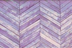 Drewniana tekstura Różowy stary pal drapający tło panel Obraz Royalty Free