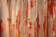 Drewniana tekstura Stary drewniany deski ściany tło z dziurą gwoździe zdjęcie royalty free