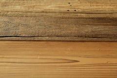 Drewniana tekstura w antykwarskim spojrzeniu Obrazy Stock