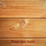 Drewniana tekstura Wektorowy Illustartion Zdjęcie Stock