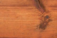 Drewniana tekstura z kępką Obrazy Royalty Free