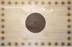 Drewniana tekstura z kolorów kwiatami i centrum słońce teksturą ilustracja wektor