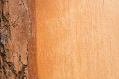 Drewniana tekstura z kopi? astronautyczn? barkentyna z gradientem i obrazy stock