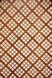 Drewniana tekstura z sprawdzać wzorami Obraz Stock