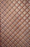 Drewniana tekstura z sprawdzać wzorami Zdjęcie Royalty Free