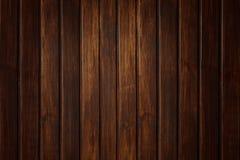 Drewniana tekstury ściana z deskami Obrazy Royalty Free