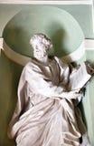 Drewniana włoska statua Obrazy Stock