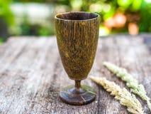 Drewniana wino trawa Obraz Stock