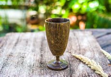 Drewniana wino trawa Obrazy Stock
