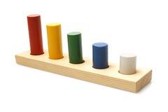 Drewniana zabawka Obrazy Stock