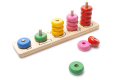 Drewniana zabawka Zdjęcie Stock