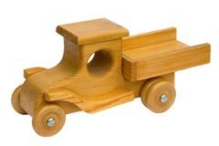 Drewniana zabawki ciężarówka Zdjęcia Stock