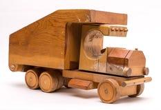drewniana zabawki stara ciężarówka zdjęcia stock