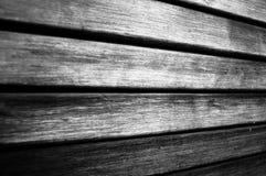 Drewniana zasłona Zdjęcie Royalty Free