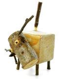 Drewniana zwierzęca lala Zdjęcia Stock