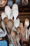 Drewniane łyżki Zdjęcie Royalty Free