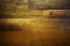 drewniane abstrakcyjne tło - Podłoga i ściana Obraz Stock