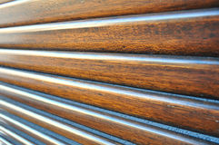 Drewniane żaluzje Fotografia Stock