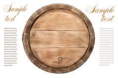 drewniane barrel Zdjęcia Stock