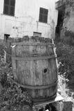 drewniane barrel fotografia stock