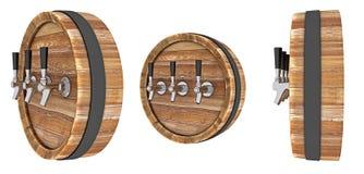 drewniane barrel Zdjęcie Royalty Free