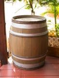 drewniane barrel Obrazy Royalty Free