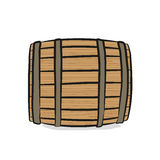 drewniane barrel Obraz Royalty Free