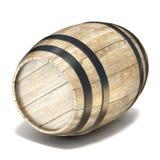 drewniane barrel 3d Zdjęcie Stock
