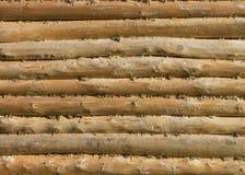 Drewniane bele fotografia stock