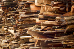 Drewniane cegiełki Zdjęcia Stock