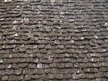 Drewniane dachowe płytki Obrazy Stock
