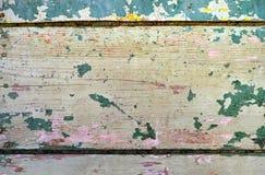 Drewniane deski A Obrazy Royalty Free