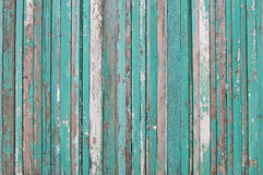 Drewniane deski, drewniany tło, zieleń, biel, brown Obraz Stock
