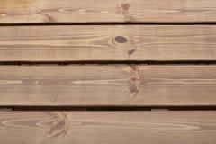 Drewniane deski w deszczu Fotografia Royalty Free