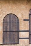 drewniane drzwi Fotografia Royalty Free