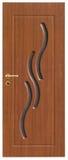 drewniane drzwi Fotografia Stock