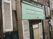 drewniane drzwi obrazy stock