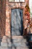 drewniane drzwi pradawnych, Fotografia Stock