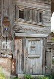 drewniane drzwi pradawnych, Zdjęcie Royalty Free