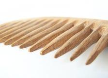drewniane grzebieniowy Obrazy Stock