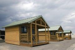 drewniane kabin Zdjęcia Stock