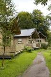 drewniane kabin Zdjęcie Stock