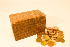 Drewniane klatki piersiowe Fotografia Royalty Free