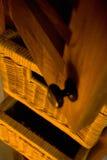drewniane meble obrazy stock