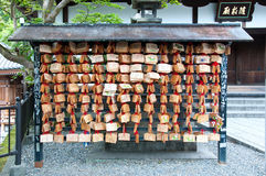 drewniane modlitewne pastylki Obraz Stock