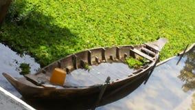 Drewniane łodzie Obrazy Stock