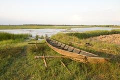 Drewniane łodzie Zdjęcia Stock