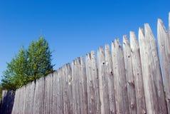 drewniane płotu Fotografia Stock