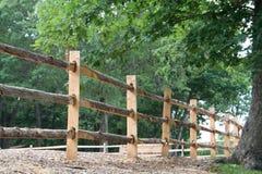 drewniane płotu Zdjęcia Stock
