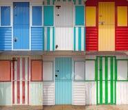 Drewniane Plażowe budy Zdjęcia Royalty Free